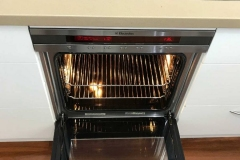 image: This stovetop and oven is looking quite the picture after cleaning by Oven Restore.